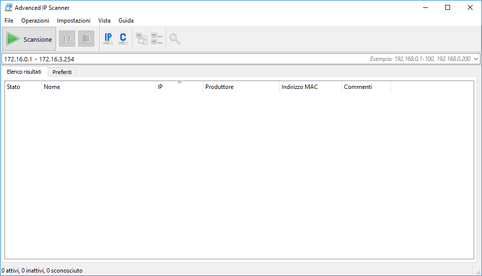 Advanced Ip Scanner - Programma