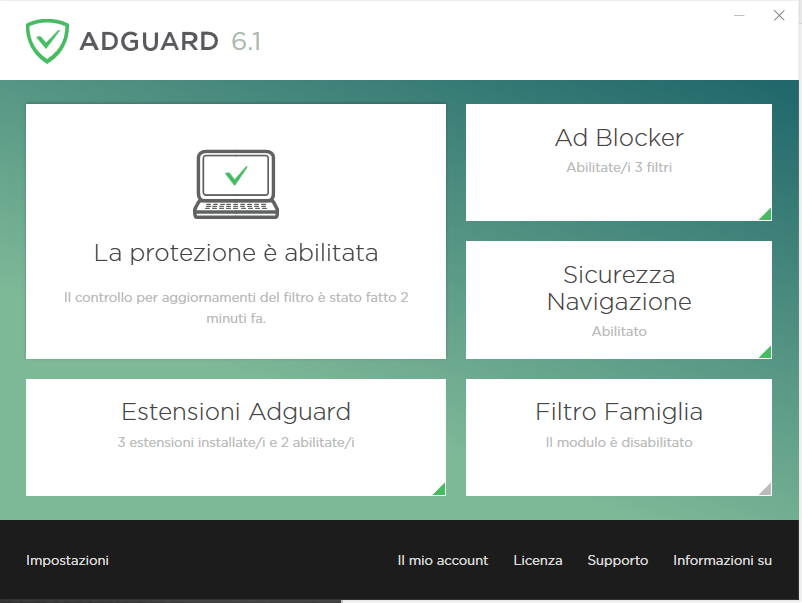 AdBlock - AdGuard Attivo