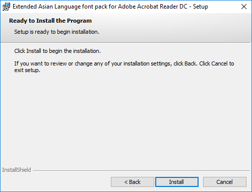 Adobe Reader Dc Extended Asian Language Font Pack Download Where to