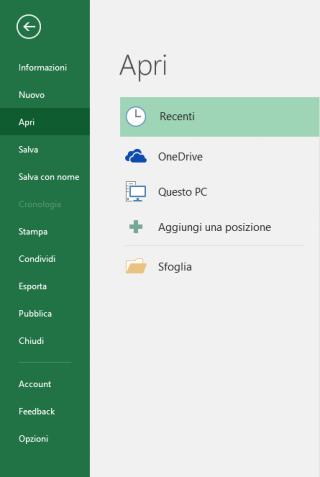 Attivare gli effetti audio di Office - File