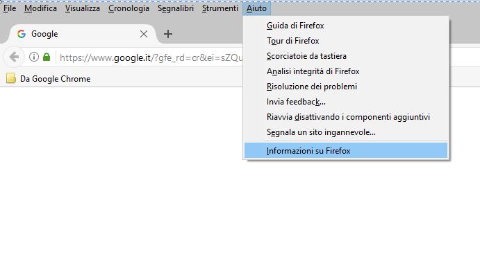 Aggiornamenti di Firefox - Aiuto
