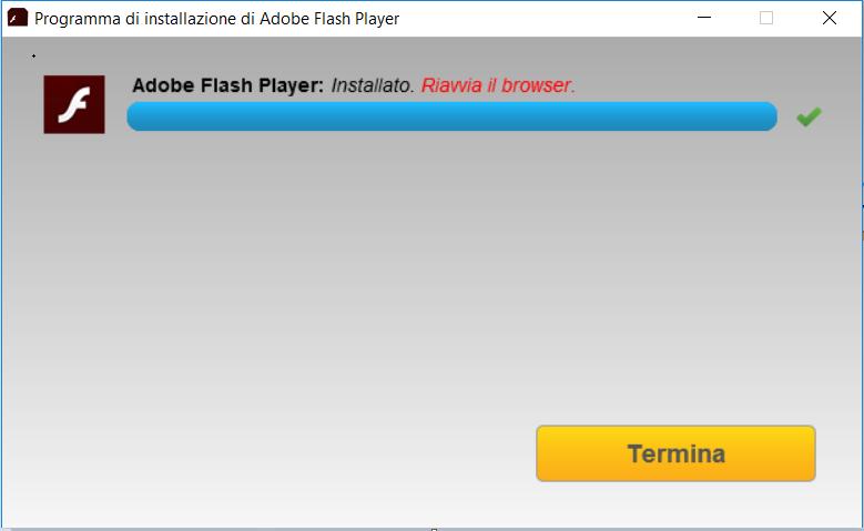 Come installare Adobe Flash Player - Termina
