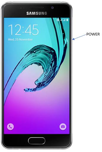 Samsung A3 - Power