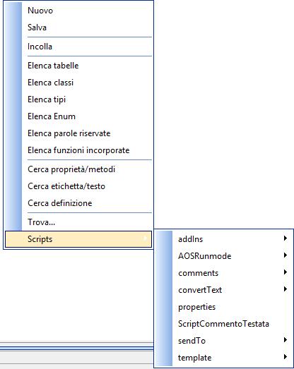 Commenti Personalizzati - Script