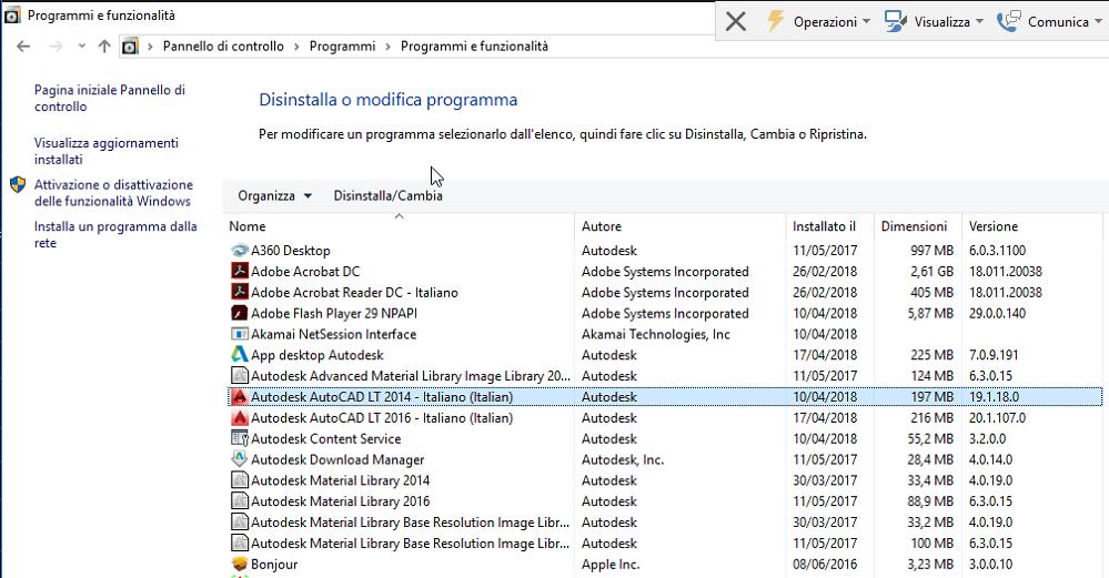 Error handler re-entered - Programmi e Funzionalità