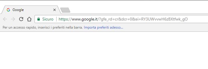 importare i preferiti su Chrome - Importa Adesso