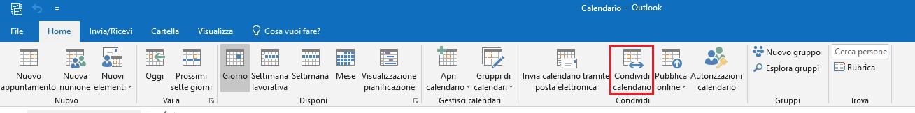Apri Il Calendario.Calendario Condiviso Su Outlook Windows Per Tutti