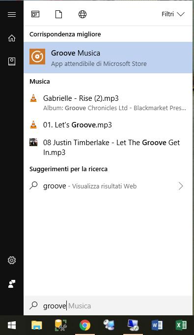 Groove Musica - Start