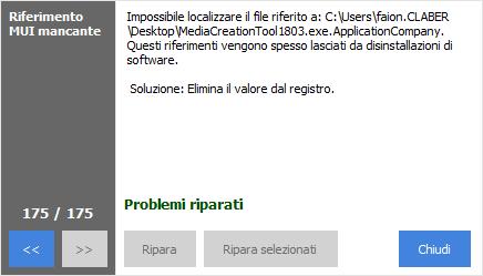 Come usare CClenaer - Problemi riparati
