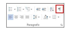 Segni di formattazione - Attivarli in un messaggio